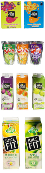 Juice Press and Juice Fit Range